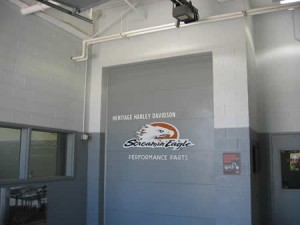 CHI commercial garage door