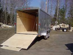 truck trailer repaired by Innovative Garage Door