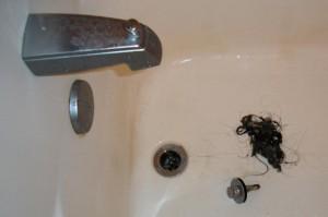 clwaning clogged drains