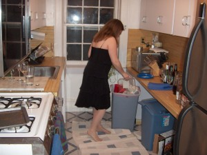 Cleaning Up your kitchen