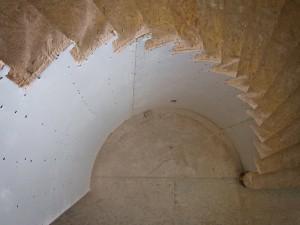 drywall radius stairs 1