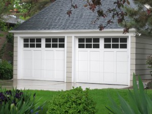 The garage is home to your vehicle