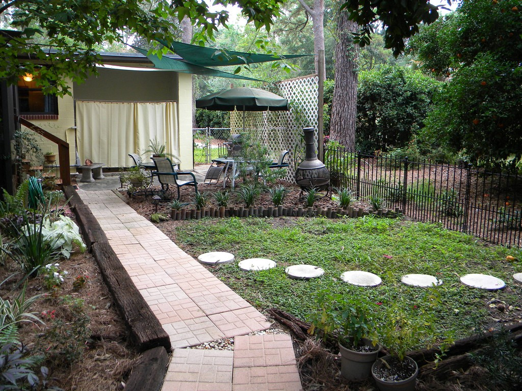 An eco-friendly environment home.