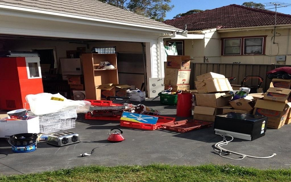 Garage cleaning day!