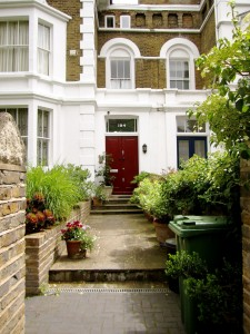 Create a pleasant entrance