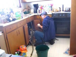 Fix plumbing leaks