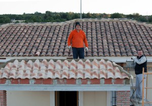 Inspect the roof for potential damage